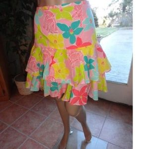 Lilly Pulitzer Multicolor Adorable Tropical Tiered